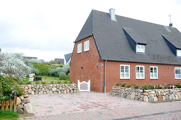Vorderansicht Golfhouse II in Hörnum/Sylt